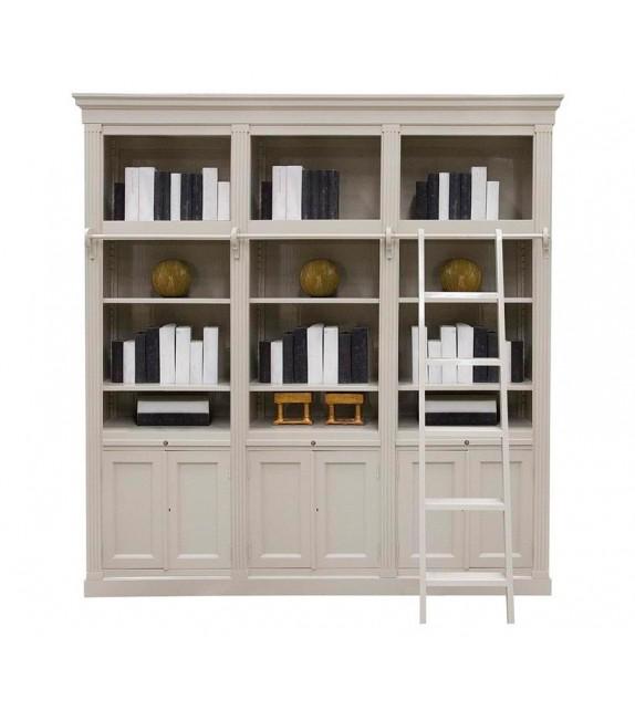 Librera con escaleras estilo clsico Medidas 230Lx41Wx240H