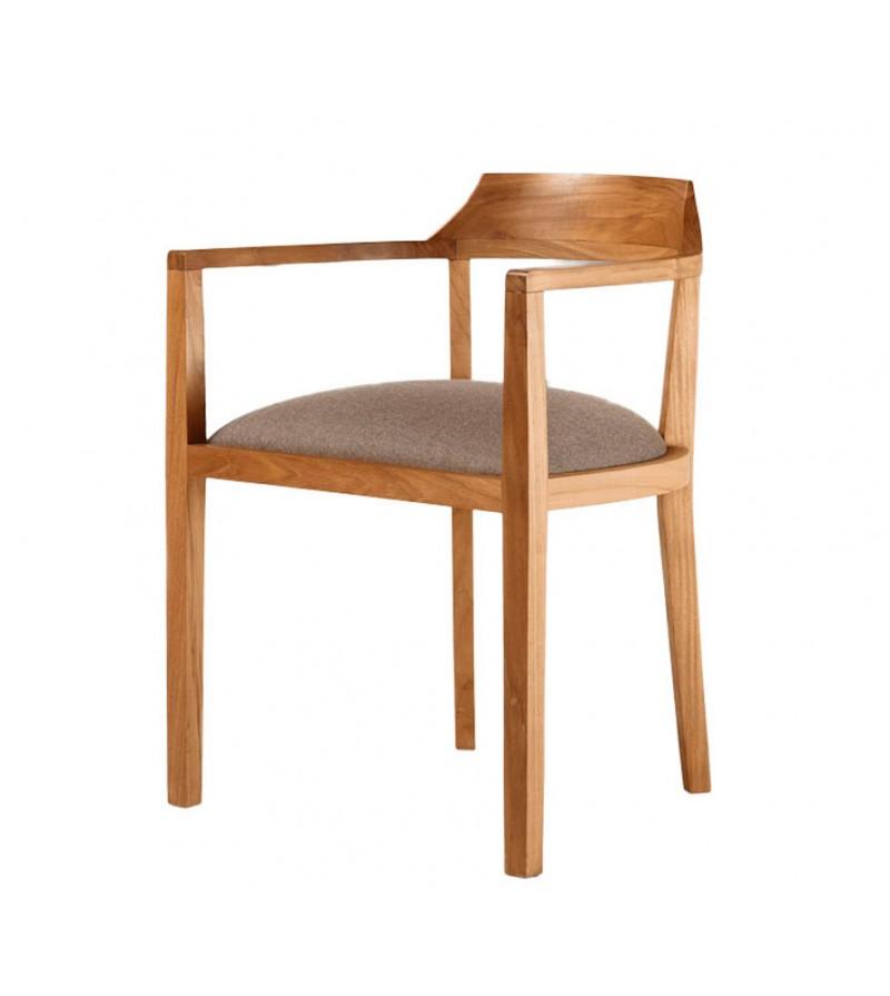 sillas teka comedor tapizadas
